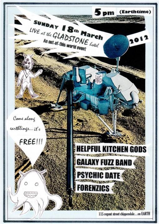 Forenzics Live Performance 18-03-2012